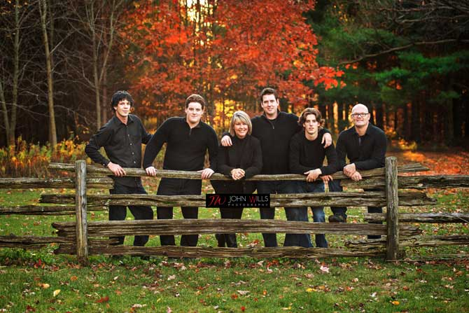Fall Family Portrait Photographers