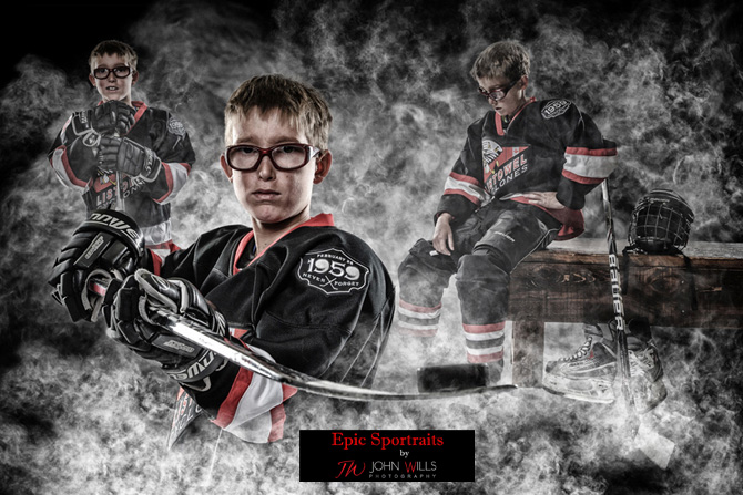 Hockey Studio Photographers
